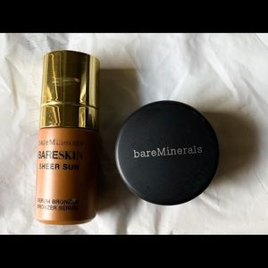 Bareminerals Bareskin Bronzer and Eyeliner powder